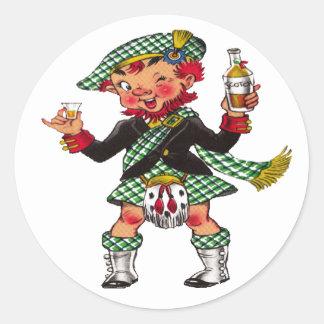 A Wee Bit O' Scotch Stickers