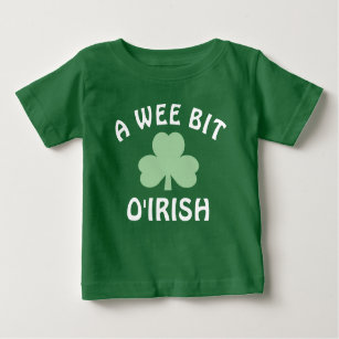 24cacc11c Wee Bit Irish T-Shirts - T-Shirt Design & Printing | Zazzle