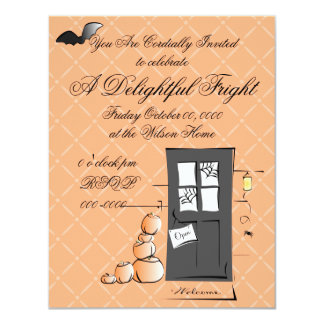 A WElcome and Cordial Halloween Card
