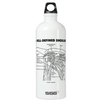 A Well-Defined Shoulder (Anatomical Humor) SIGG Traveler 1.0L Water Bottle