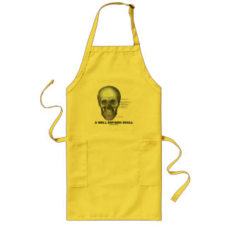 A Well-Defined Skull (Medical Anatomy) Long Apron