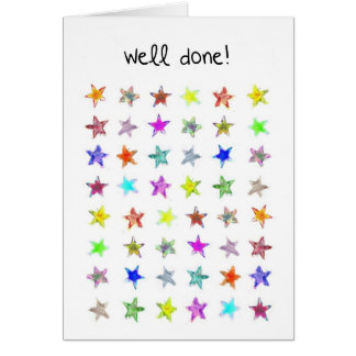 A Well done card