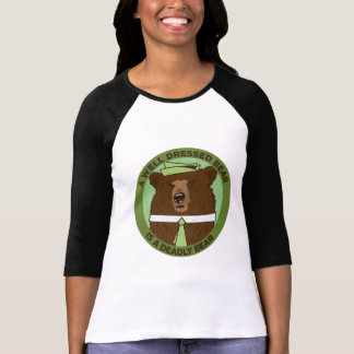 A Well Dressed Bear Is A Deadly Bear Tshirt