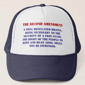 A well regulated Militia, being ne... - Customized Trucker Hat