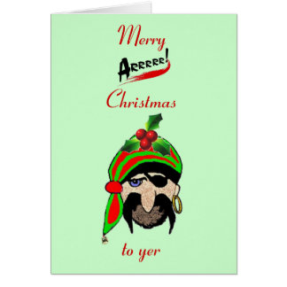 A Welsh Pirate's Christmas Card