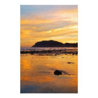 A Welsh Sunrise, Llandudno,  Wales Stationery