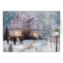 A Western Christmas Card