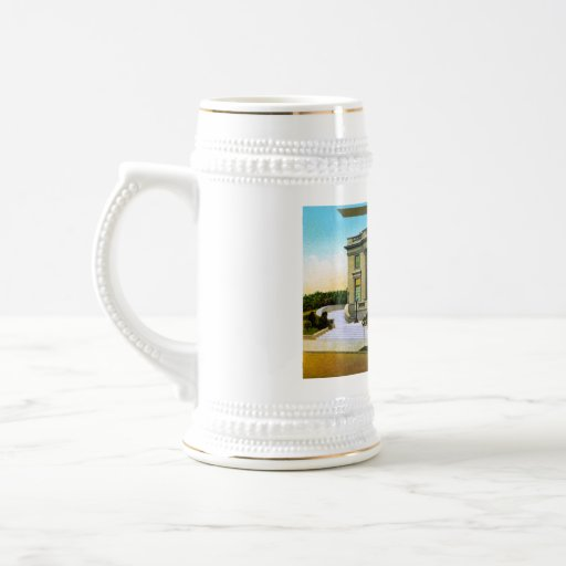 A Western Millionaires Residence 18 Oz Beer Stein
