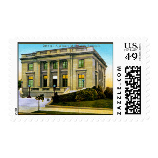 A Western Millionaires Residence Postage