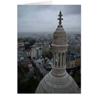 A Wet Day Over Paris Greeting Card