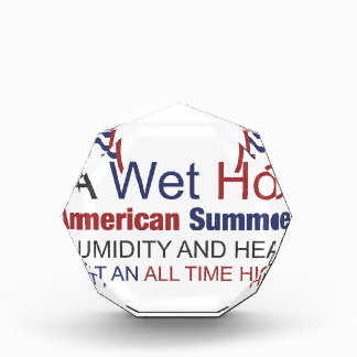 A Wet Hot American Summer Acrylic Award