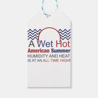 A Wet Hot American Summer Gift Tags