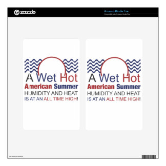 A Wet Hot American Summer Kindle Fire Skins