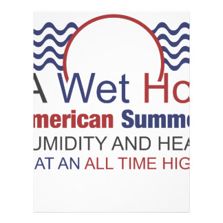 A Wet Hot American Summer Letterhead
