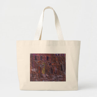 A WET MORNING LARGE TOTE BAG