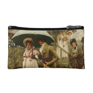 A Wet Sunday Morning double-sided Cosmetic Bag