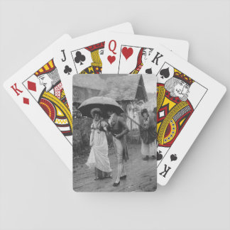 A Wet Sunday Morning Playing Cards