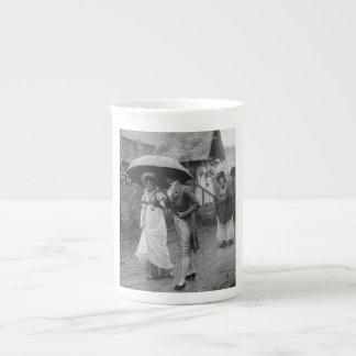 A Wet Sunday Morning Tea Cup