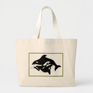A Whale Family Bag