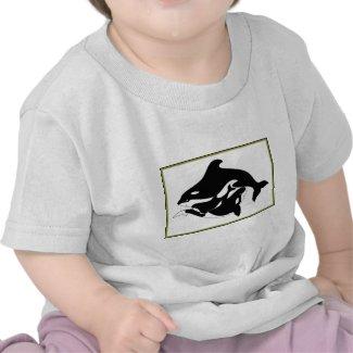 A Whale Family shirt