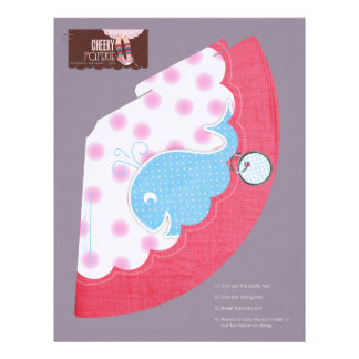 A Whale of a Birthday Party Hats Letterhead