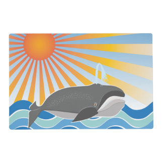 A Whale of a Good Time Placemat