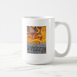A Whale of a Tail Coffee Mugs