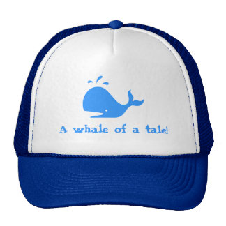 A whale of a tale mesh hats