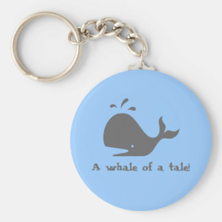 A whale of a tale key chains