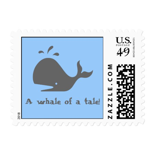 A whale of a tale! postage