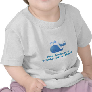 A whale of a time - baby tee
