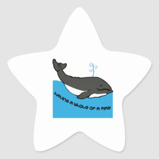 A Whale Of A Time Stickers