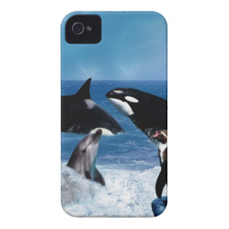 A whale of a world iPhone 4 cover