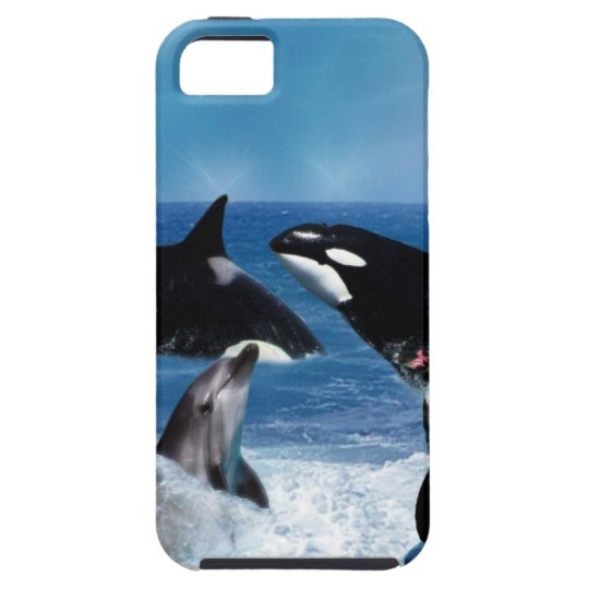 A whale of a world iPhone SE/5/5s case
