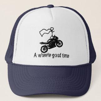 A wheelie good time hat. By Moto Life™ Trucker Hat
