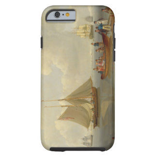 A Wherry Taking Passengers out to Two Anchored Pac Tough iPhone 6 Case