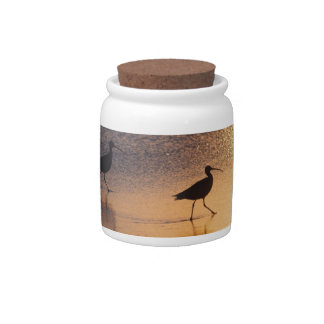 A Whimbrel Evening Candy Dishes