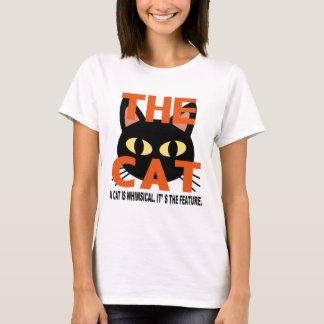 A whimsical cat T-Shirt
