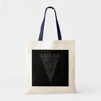 A Whimsical Slice of Pi Budget Tote Bag