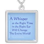 A Whisper Pendants