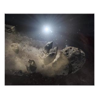 A white dwarf star art photo