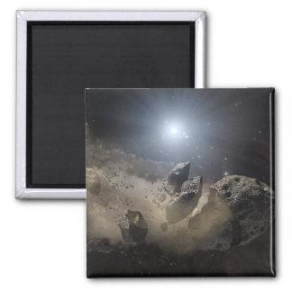 A white dwarf star magnet