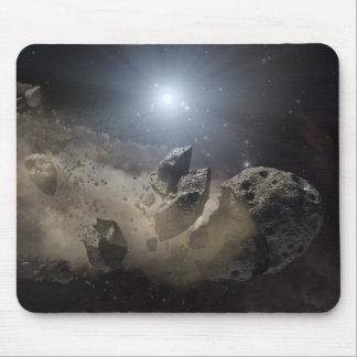 A white dwarf star mouse pad