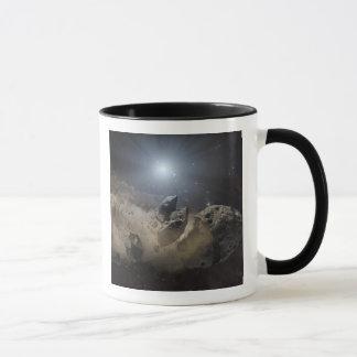 A white dwarf star mug