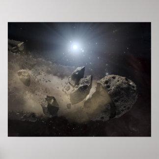 A white dwarf star print