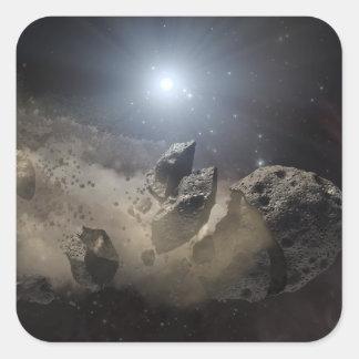 A white dwarf star stickers