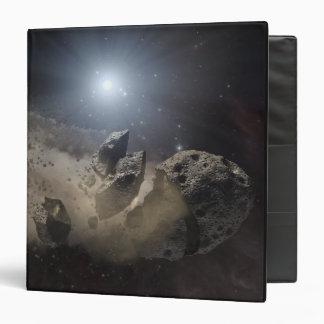 A white dwarf star vinyl binders