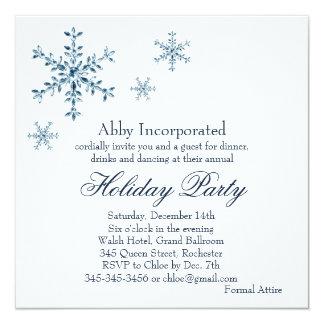 A White Glamorous Holiday Invitation (corp)