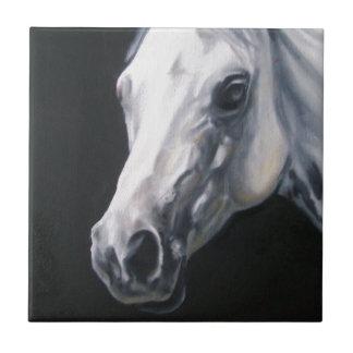 A White Horse Tile