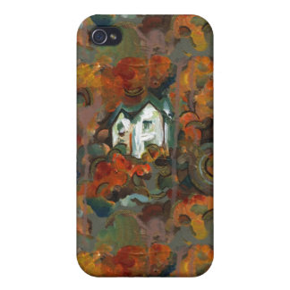 A White House & Autumn Trees iPhone 4/4S Case